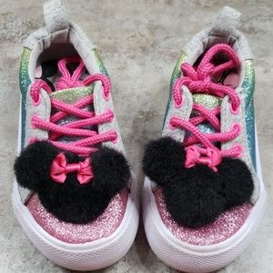 Disney Minnie Mouse Glittery Shoes